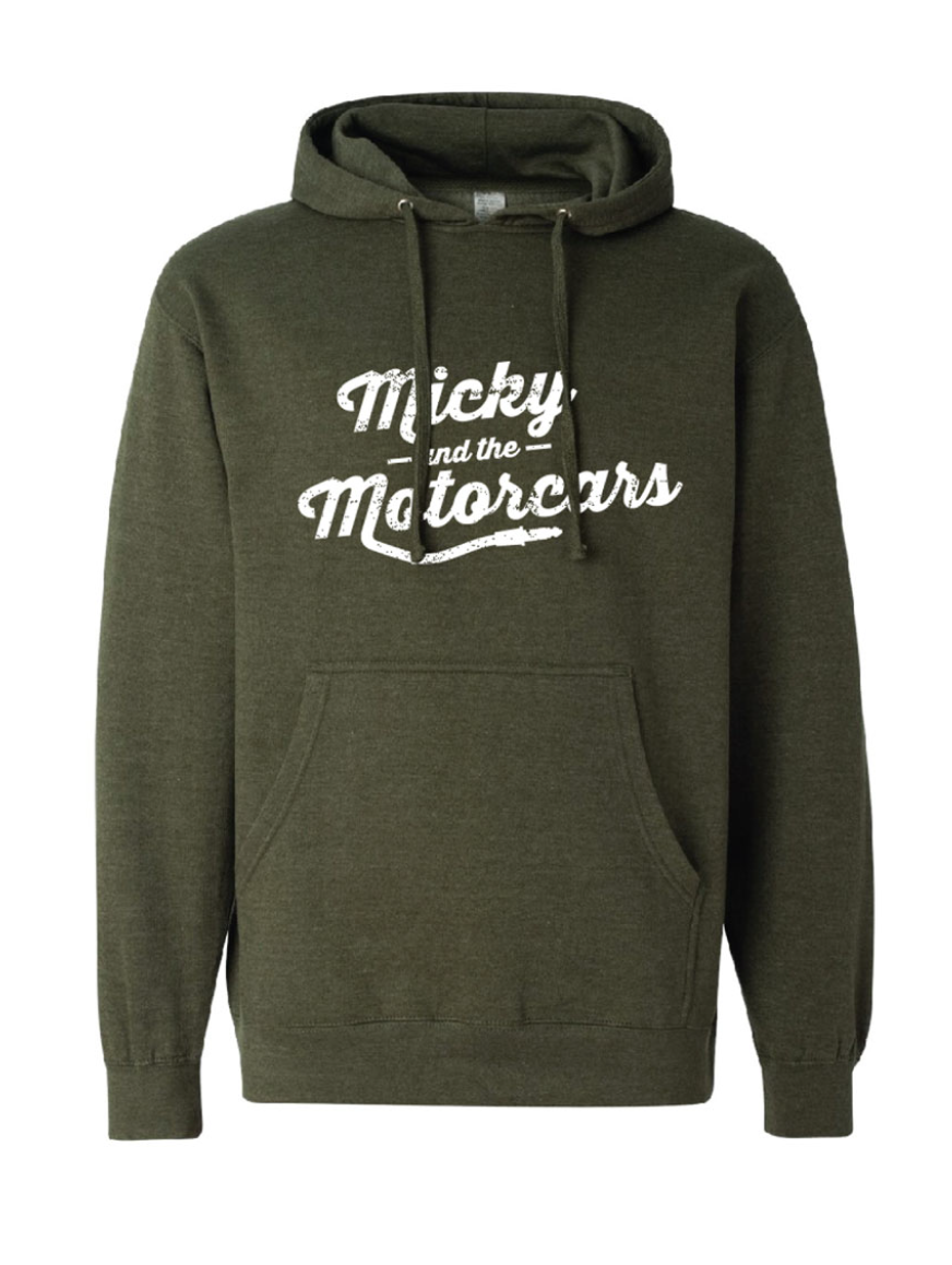 8e7a1379 Military Green Guitar Hoodie | Micky and The Motorcars